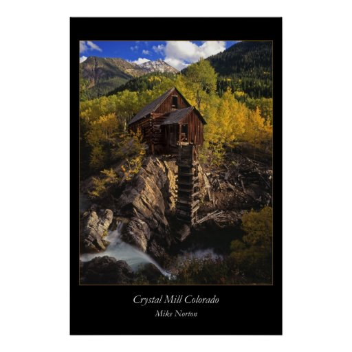 Crystal Mill Colirado Posters