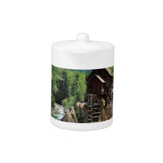 Crystal Mill Colorado Mountain Stream