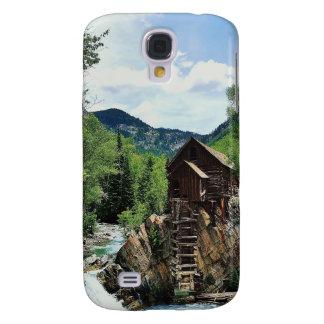 Crystal Mill Colorado Mountain Stream Samsung Galaxy S4 Case