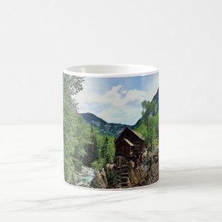 Crystal Mill Colorado Mountain Stream Coffee Mug