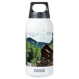 Crystal Mill Colorado Mountain Stream Insulated Water Bottle
