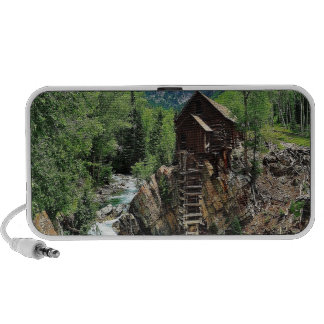 Crystal Mill Colorado Mountain Stream Travelling Speaker