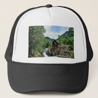 Crystal Mill Colorado Mountain Stream Trucker Hat