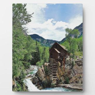 Crystal Mill Colorado Photo Plaque