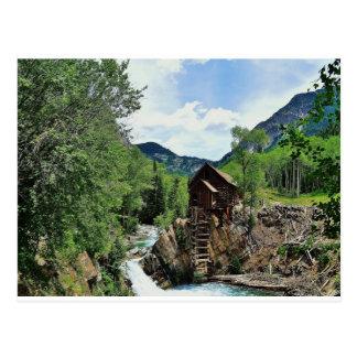 Crystal Mill Colorado Postcard