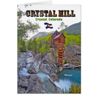Crystal Mill - Crystal, Colorado Card