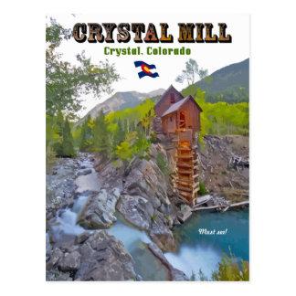 Crystal Mill - Crystal, Colorado Postcard