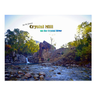 Crystal Mill on the Crystal River Postcard