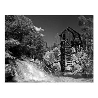 Crystal Mill postcard
