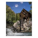 Crystal Mill postcard