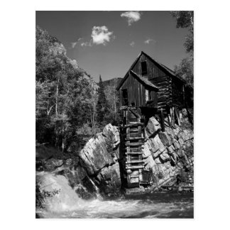 Crystal Mill postercard Postcard