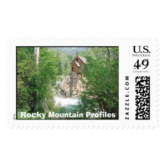 Crystal Mill  Rocky Mountain Profiles  Postage Stamp