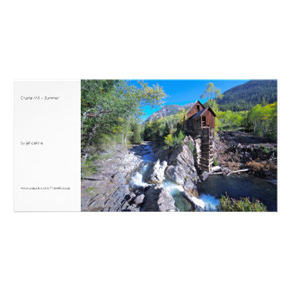 Crystal Mill - Summer Photo Card