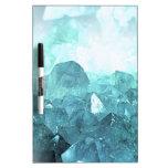Crystal Mint Dry-Erase Board