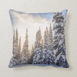Crystal Mountain Ski Resort, near Mt. Rainier 1 Throw Pillow