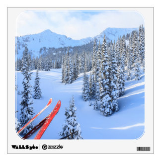 Crystal Mountain Ski Resort, near Mt. Rainier 2 Wall Decal