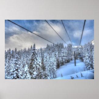 Crystal Mountain Ski Resort, near Mt. Rainier 3 Poster