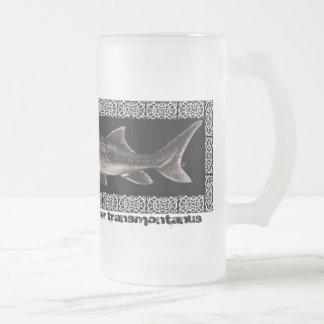 Crystal Mug - White Sturgeon