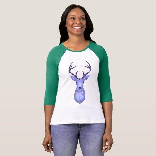 Crystal nerve â Crystal deer T_Shirt