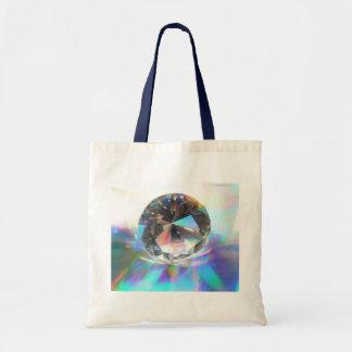 Crystal on Holograph Tote Bag