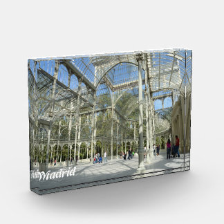 Crystal Palace, Madrid Acrylic Award