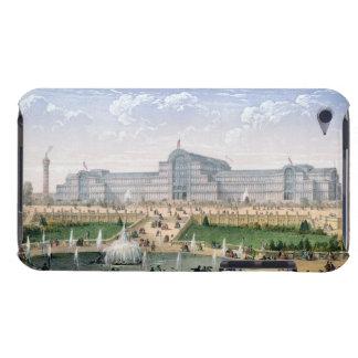 Crystal Palace, Sydenham, c.1862 (colour litho) iPod Touch Case