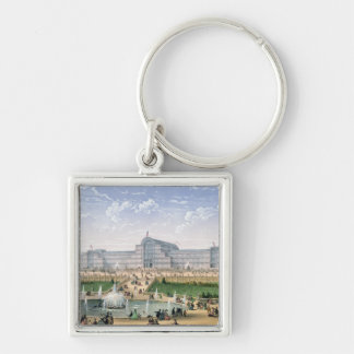 Crystal Palace, Sydenham, c.1862 (colour litho) Keychains