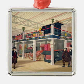Crystal Palace, the Agricultural Court (coloured l Metal Ornament