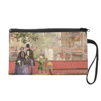 Crystal Palace, the Transept from the South Galler Wristlet Purses