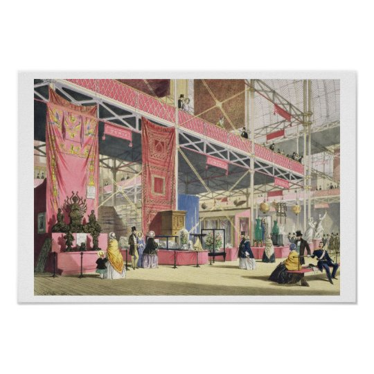 Crystal Palace, the Tunis and China Galleries (col Poster