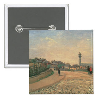 Crystal Palace, Upper Norwood (oil on canvas) Pinback Button