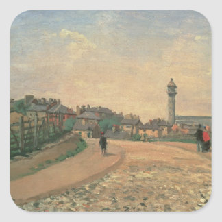 Crystal Palace, Upper Norwood (oil on canvas) Square Sticker