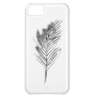 Crystal Peacock Feather iPhone 5C Case