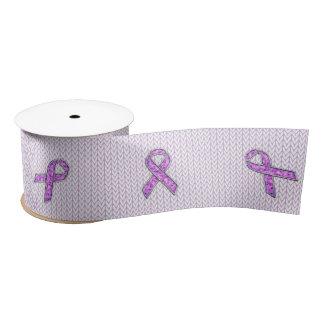 Crystal Pink Ribbon Awareness Knitting
