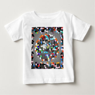 Crystal Pixels Dots Art Baby T-Shirt