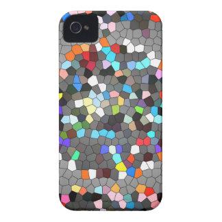 Crystal Pixels Dots Art iPhone 4 Case