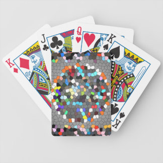 Crystal Pixels Dots Art Bicycle Playing Cards