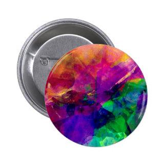 Crystal Rainbow Button