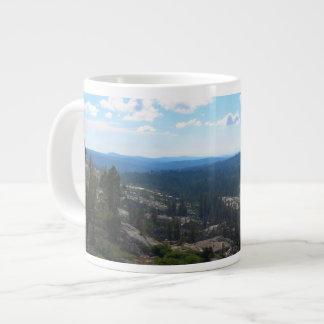 Crystal Range Valley, Desolation Wilderness Large Coffee Mug