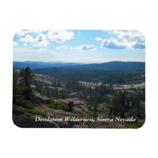 Crystal Range Valley, Desolation Wilderness Magnet