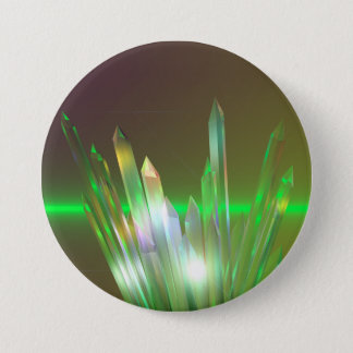 Crystal Rise Pinback Button