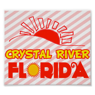 Crystal River, Florida Poster