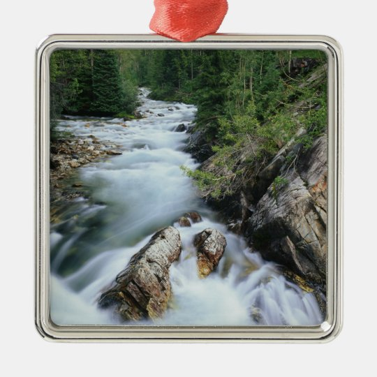 Crystal River, Gunnison National Forest, Metal Ornament