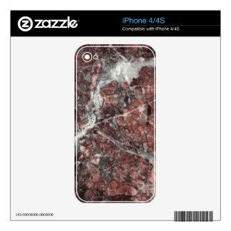 Crystal Rose Decorative Stone - Dramatic Flair iPhone 4S Skin