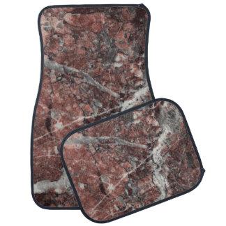 Crystal Rose Stone Pattern Background - Dramatic Car Mat