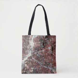 Crystal Rose Stone Pattern Background - Dramatic Tote Bag