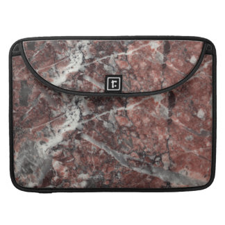 Crystal Rose Stone Pattern Background MacBook Pro Sleeve