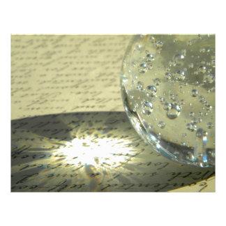 Crystal Script Letterhead