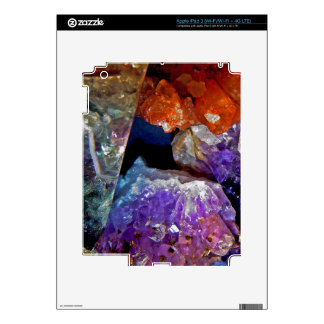 Crystal Secrets Mineral Abstract Decal For iPad 3