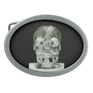 Crystal skull Belt Buckle